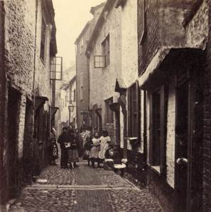 Great Yarmouth, Blue Anchor Row, Row 24, late 1800s,  c. Norfolk County Council