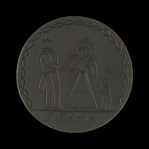 Convict love token National Museum of Australia  http://love-tokens.nma.gov.au/tags/child-figure/2008.0039.0269