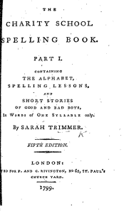 charity school spelling book