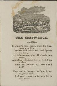 The Shipwreck start poem