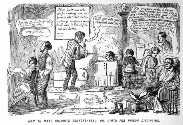 John Leech, How to Make Culprits Comfortable Punch (1849), c. John Leech Archive