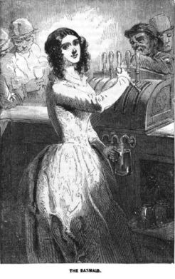 The Barmaid Sketches of London