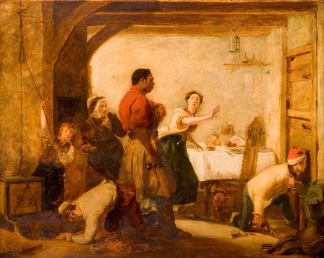 Knight, John Prescott, 1803-1881; Smugglers Alarmed
